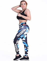 Mujer Pantalones de Running Transpirable Suave Cómodo Medias/Mallas Largas para Yoga Ejercicio y Fitness Deportes recreativos Running