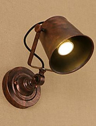 O caráter da barra da barra da arte do ferro pode ajustar a lâmpada illuminative da parede da lâmpada acima e para baixo