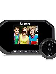 Danmini 3,0-дюймовый hd экран дизайн для 160 градусов широкий угол пир обнаружения движения супер ночного видения зрителя зрителя.