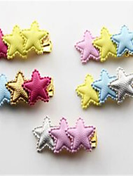 Dog Hair Accessories Dog Clothes Summer Stars Cute Rainbow