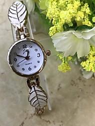 Mujer Reloj Pulsera Simulado Diamante Reloj Chino Cuarzo / La imitación de diamante Aleación Banda Casual Oro Rosa