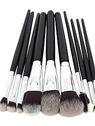 10pcs Makeup Brushes Set High Quality Makeup Tools Kit Premium Full Function