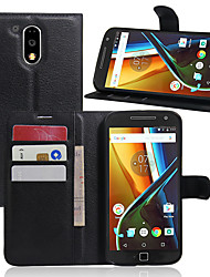The Lychee Stripe Card Holder Protects The Leather Case for The Motorola Series