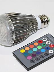 5W E27 Lampadine globo LED A60(A19) 1 Illuminazione LED integrata 500 lm Colori primariIntensità regolabile Controllo a distanza