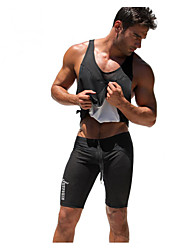 Men's Running Pants/Trousers/Overtrousers Breathable Sweat-wicking Lightweight Materials Comfortable Spring Summer Fall/AutumnExercise &
