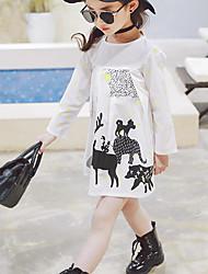Girl's Fashion Dress,Acrylic Summer Long Sleeve
