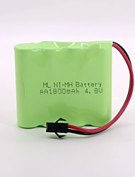 Ni-mh Battery 1800mAh AA 4.8V