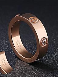 Ringe-Edelstahl-Gold Silber