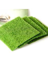 1Pcs  Micro Landscape Decoration DIY Mini Fairy Garden Simulation Plants Artificial Fake Moss Decorative Lawn Turf Green Grass  30*30Cm