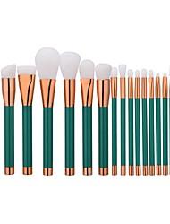 1 juego Sistemas de cepillo Cepillo de Cejas Cepillo de Teñir Cepillo para Polvos Cepillo para Base Otros Pinceles Pincel de Nylon