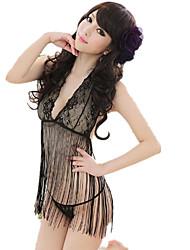 Costumes Vêtement de nuit Femme,Dentelle Sexy Spandex Rayonne