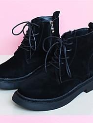 Women's Boots Spring Fall Comfort Suede Casual Low Heel