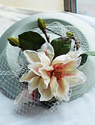 Tissu en filet - mariage occasion spéciale casque extérieur occasionnel 1 pièce