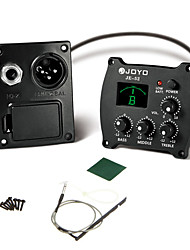 New Acoustic Guitar Preamp Tuner 3 Band EQ JE-52 Joyo