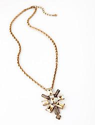 Women's Pendant Necklaces Geometric Chrome Unique Design Personalized Gold Jewelry For Housewarming Congratulations Casual 1pc