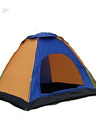 1 Pessoa Tenda Duplo Tenda Dobrada Um Quarto Barraca de acampamento 1000-1500 mm Fibra de Vidro OxfordÁ Prova de Humidade Prova de Água