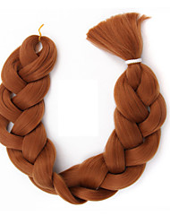 Synthetic Braiding Hair Extension High Temperature Fiber Jumbo Box Braids