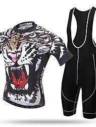 Bicchierini bicchierini da ciclismo da uomo xintown® pro team con tigre arrabbiata 3d imbottita