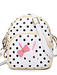 Bowknot Child Wrapped Girl's Princess Cute Cartoon Polka Dot Single Shoulder Bag