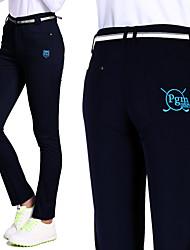 Women's Sleeveless Golf Bottoms Breathable Soft Comfortable Blue Orange Black White Golf Leisure Sports