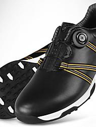 Повседневная обувь Обувь для игры в гольф Муж. Противозаносный Anti-Shake Амортизация Износостойкий Выступление Резина Спорт в свободное