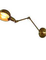 Qsgd ac220v-240v 4w e27 führte helles swall Licht geführtes Wandleuchter Wand-Eisenwandlampe stummes schwarzes Lichtschwertlampe an Wand