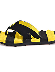 Free Style Casual Men's Sandals Flat Heel High Quality Slip-on Flip Flops Shoes for /Outdoor/Casual