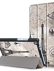 Capa de capa de impressão para lenovo tab3 guia 3 7 mais 7703 7703x tb-7703x tb-7703f com filme de tela