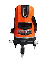 Deke® 5 linha laser de marcação a laser infravermelho 650nm linha de nivelamento laser