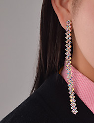 Drop Earrings Rhinestone Euramerican Fashion Personalized Rhinestone Alloy Jewelry Jewelry For Special Occasion Daily Casual Outdoor1
