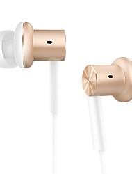 Xiaomi mi iv hybride in-ear oortelefoon mi zuiger met mic xiaomi oortelefoon voor xiaomi redmi3 / redmi 4s / xiaomi5 india editie