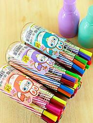 12 цветных акварельных ручек можно мыть нетоксичными