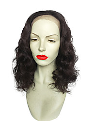 18 inch Lace Front Wigs Curly Synthetic Wig New Style Black Color For Women