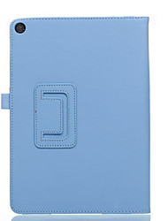 For Case Cover with Stand Flip Full Body Case Solid Color Soft PU Leather for ASUS Zenpad 3S 10 Z500M