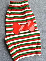 Собака Свитера Одежда для собак На каждый день Мода Носки детские Зеленый