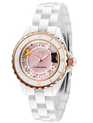 Women's Fashion Watch Japanese Quartz / Alloy Band Casual Silver Blushing Pink LightBlue