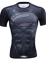Per uomo Unisex T-shirt da corsa Manica lunga Asciugatura rapida Traspirante Comodo T-shirt Top perEsercizi di fitness Pallacanestro