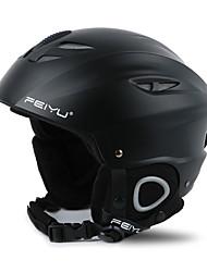 шлем Универсальные Спортивный шлем Снег шлем CE EN 1077 Пенополистирол АБС-пластик Сноубординг