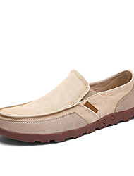 Men's Loafers & Slip-Ons Spring Comfort Fabric Casual