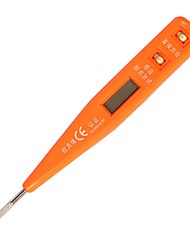 Sheffield® S034012 Digital Voltage Tester 12-220V AC LED 150mm