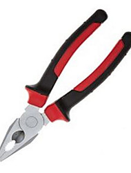 FS Handle Steel Wire Pliers 81 Cr-V Material Heat Treatment Surface Plating 2 Two Color Handle Grip Comfortable