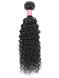 Indian Virgin Human Hair Extensions Weaves kinky curly 1 Piece 100g