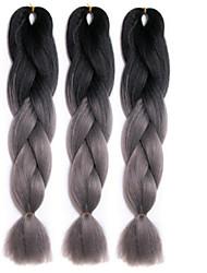 Box Tranças Tranças torção Extensões de cabelo Tranças de cabelo