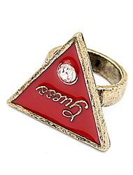 Anel Anéis Grossos GemaBásico Original Com Logotipo Amizade Vitoriano Bijuterias Destaque Africa Estilo simples Durável EUA Moda Formais