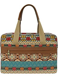 Kate&Co. classic ethnic style ladies oblique cross bag / laptop bag TH-2130 print 13 inches