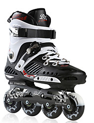 Unisex Adults' Inline Skates Adjustable Black/Yellow