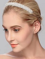 Сплав металлов Заставка-Свадьба Особые случаи На каждый день на открытом воздухе Ободки Цепочка на голову Аксессуар для волос 1 шт.