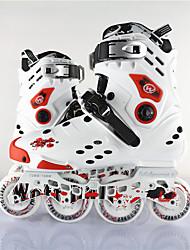 Unisex Inline-Skates Einstellbar Weiß