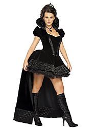 Costumes de Cosplay Sorcier/Sorcière Fête / Célébration Déguisement d'Halloween Autres Robe Coiffures Halloween FémininElasthanne