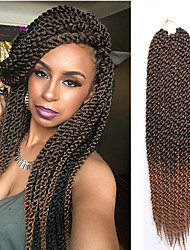 Havana Box Tranças Crochê torção cúbico Tranças torção Extensões de cabelo fibra sintética Tranças de cabelo